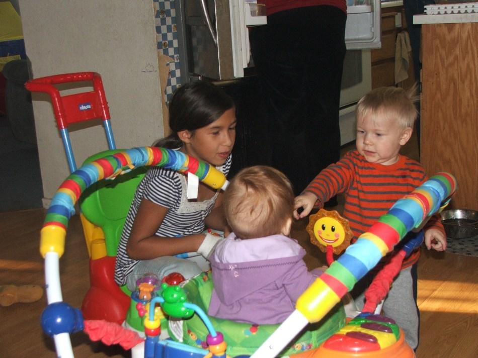 Violet, Tristan & Melanie