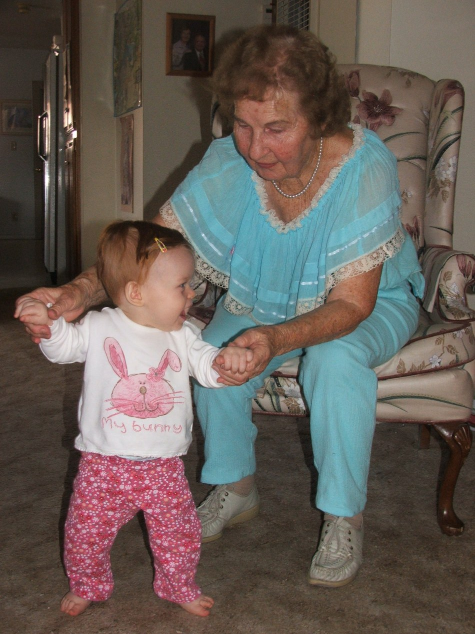 Walking with Great-Grandma Violet