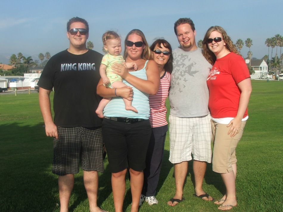 The whole family = A great day!