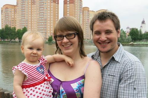 Ruvim, Anya and Nastya