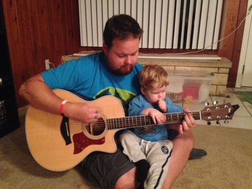 It's never to early to start learning guitar!