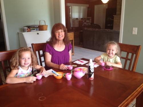 The obligatory tea party